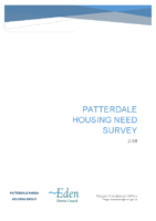 Patterdale Housing Needs 2018 Report